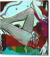 Ava Gardner - Pop Art Canvas Print