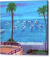Avalon On Catalina Canvas Print