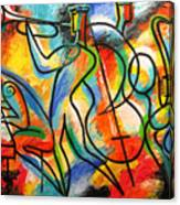 Avant-garde Jazz Canvas Print