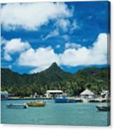 Avarua Harbor Canvas Print