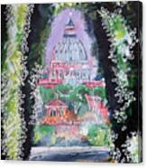 Aventine Keyhole Canvas Print