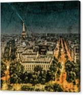Paris, France - Avenue Kleber Canvas Print