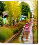 Avenue Of Dreams 4 Canvas Print