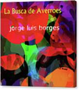 Averroes's Search Borges Poster Canvas Print