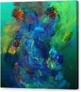 Avian Dreams - Pardise  Canvas Print
