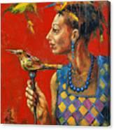 Aviary Queen Canvas Print