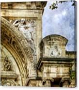 Avignon Opera House Muse 2 - Vintage Version Canvas Print