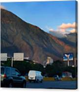 Avila From The Highway Canvas Print