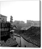 Avila Rooftops Canvas Print