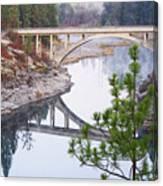 Avista High Bridge Canvas Print