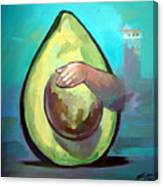 Avocado Canvas Print