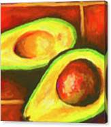 Avocado Sabroso Canvas Print