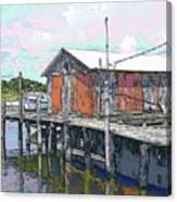 Avon Dock Canvas Print