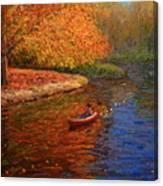Avon In Autumn Canvas Print