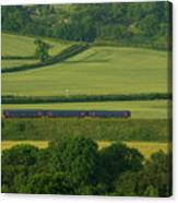 Avon Valley Sprinter  Canvas Print