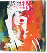 Awakened Buddha 5- Art By Linda Woods Canvas Print