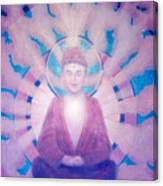 Awakening Buddha Canvas Print