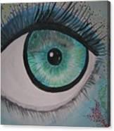 Awakening Eye Canvas Print