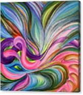 Awakening 1. Version 3.  Canvas Print