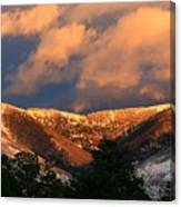 Awesome Light Of New Mexico Canvas Print