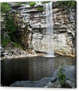 Awosting Falls In July II Canvas Print