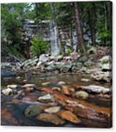 Awosting Falls In July Iv Canvas Print