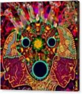 Ayahuasca Dimensional Encounter Canvas Print