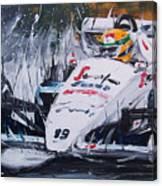 Ayrton Senna Toleman 1984 Canvas Print