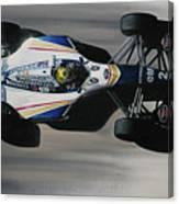 Ayrton Senna - Williams Renault Fw16 Canvas Print