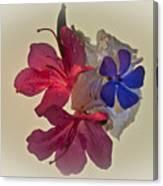 Azalea Bouquet Majic Canvas Print