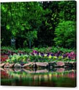 Azalea Pond Canvas Print