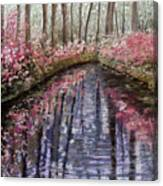 Azalea River Canvas Print