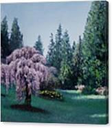 Azalea Way Morning Canvas Print