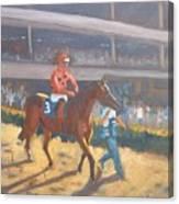 AZARI  a sure winner Canvas Print
