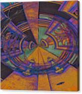 Aztec Abstract Canvas Print