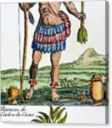 Aztec: Chocolate, 1685 Canvas Print