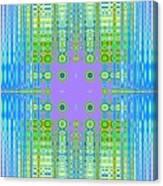 Aztec Computer Canvas Print