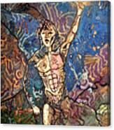 Aztec Cosmogony Canvas Print