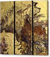 Aztec Gold Canvas Print