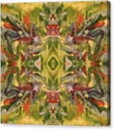 Aztec Kaleidoscope - Pattern 001 - Desert Canvas Print