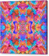 Aztec Kaleidoscope - Pattern 015 Canvas Print