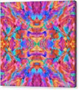 Aztec Kaleidoscope - Pattern 030 Canvas Print