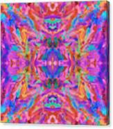Aztec Kaleidoscope - Pattern 032 Canvas Print