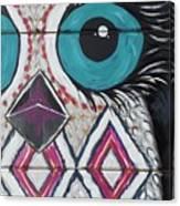 Aztec Owly Canvas Print