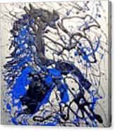 Azul Diablo Canvas Print