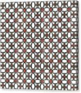 Azulejos Magic Pattern - 06 Canvas Print