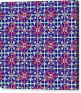 Azulejos Magic Pattern - 07 Canvas Print