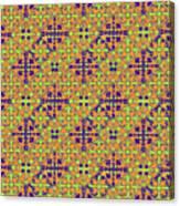 Azulejos Magic Pattern - 09 Canvas Print