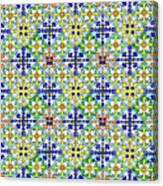 Azulejos Magic Pattern - 11 Canvas Print