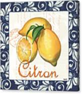 Azure Lemon 2 Canvas Print